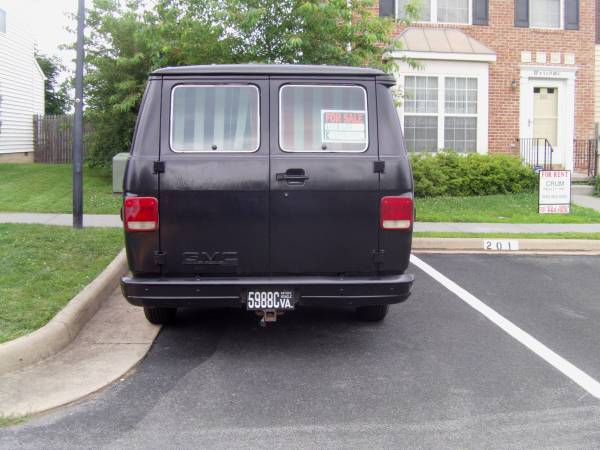 1988 GMC Vandura 2500 V8 Auto For Sale in Winchester, VA