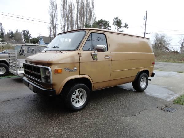 1981 GMC Vandura 350 350 Auto For Sale in Seattle, WA
