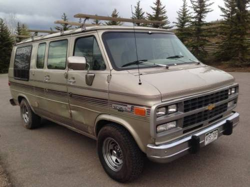 GMC Vandura Features & Specs: GM G-Series Vans Wiki