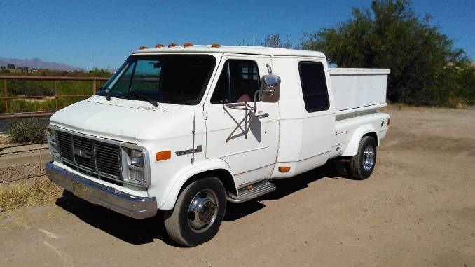 1985 GMC Vandura 3500 Conversion Dually For Sale in Tucson, AZ