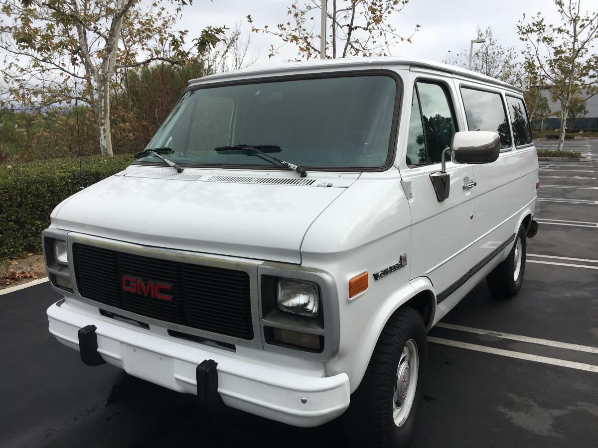 1994 GMC Vandura 2500 V6 Shorty Van For Sale in Irvine (LA Area), CA