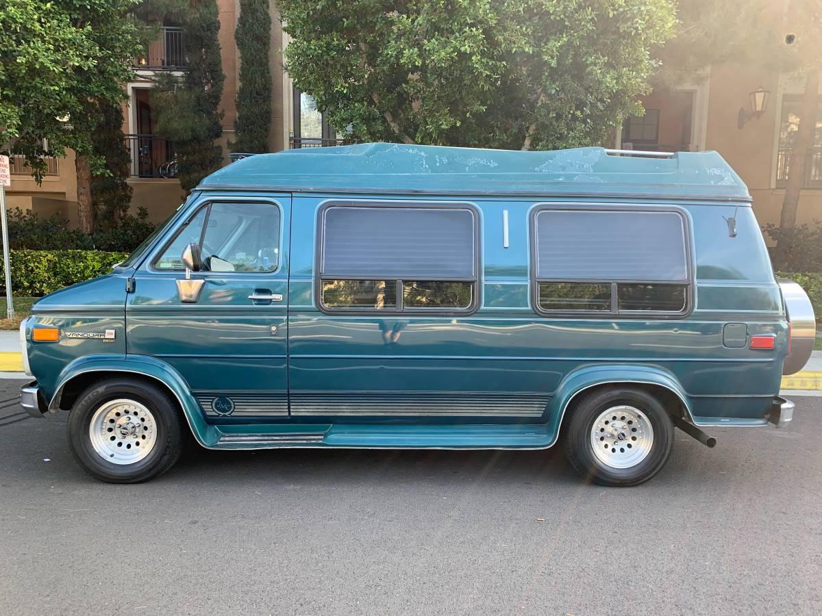1993 GMC Vandura 2500 V8 Auto For Sale in Orange County, CA